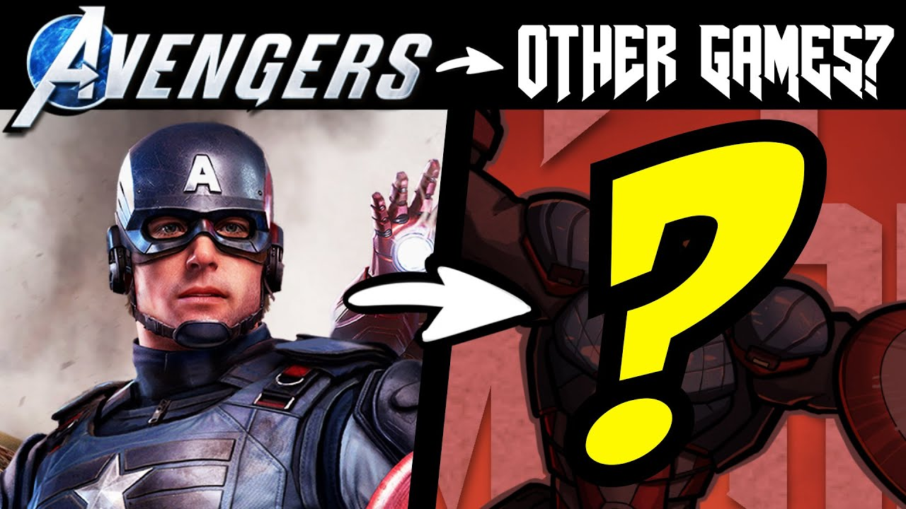 What if The AVENGERS Were in Other VIDEO GAMES?! (Stories & Speedpaint)