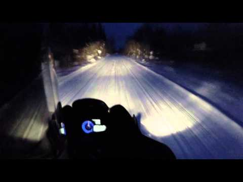 Snowmobiling Houghton to Copper Harbor