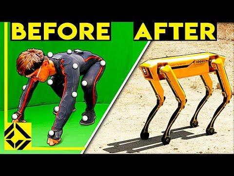 We Used CGi to Fake Military Robots