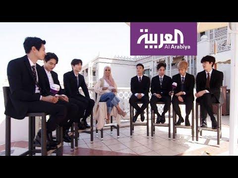 فرقة EXO تتحدث باللغة العربية  - نشر قبل 28 دقيقة