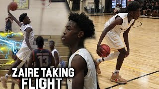 Zaire Wade Trying To DUNK EVERYTHING!!! Puts On a Show!! Video