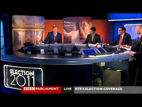 BBC Parliament Irish Election 2011 - opening sequence