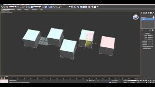 Режимы Pivot point - Урок 3D Max - Бесплатный курс Быстрый старт в 3Ds Max (день #2)