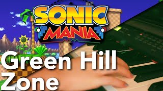 Green Hill Zone: Sonic Mania [Jazz Piano Cover] | Sab Irene