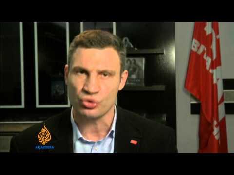 Ukraine's Vitaly Klitschko appeals to Crimea amid unrest