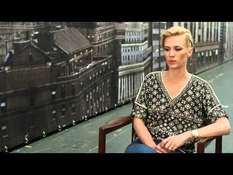 "Mad Men Season 7 January Jones ""Betty Francis"" Interview"