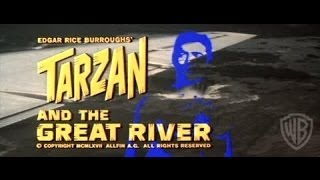 Tarzan and the Great River - Available Now on DVD