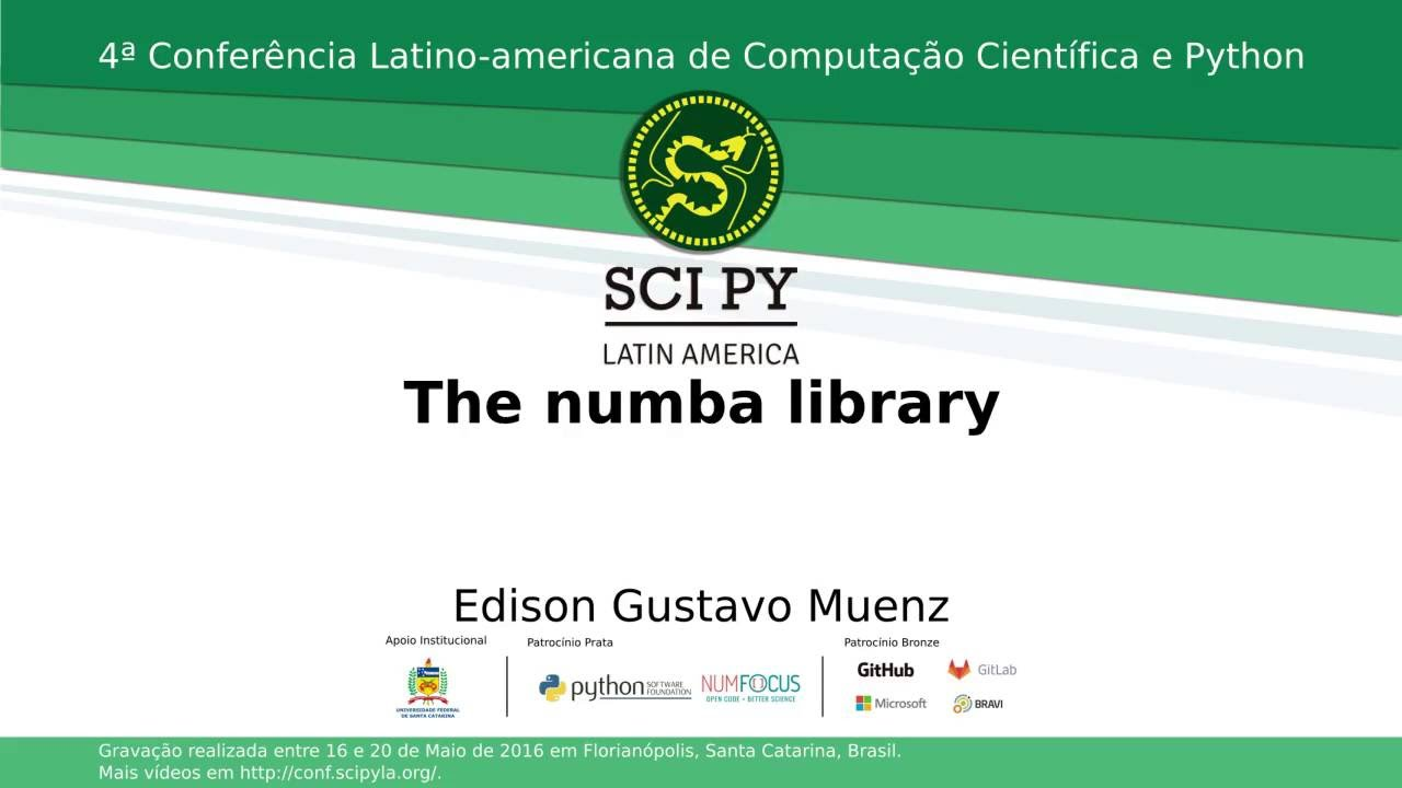 Image from The Numba Library