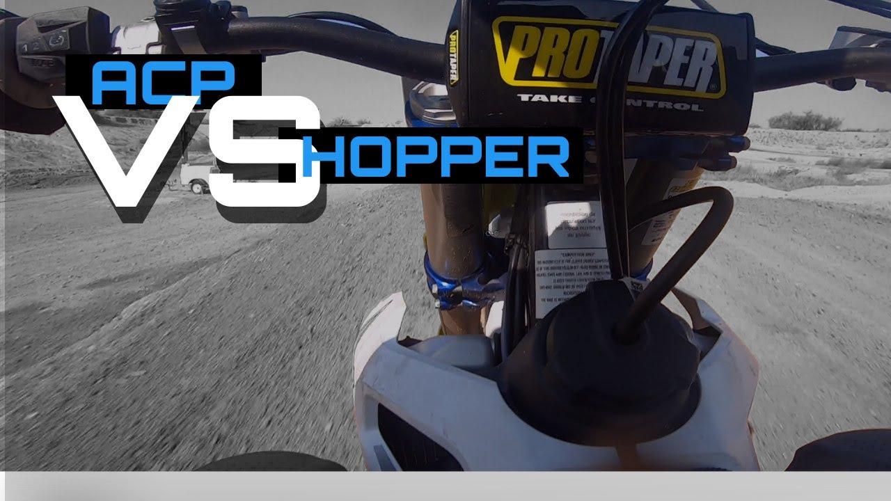 Hopper Shakes Off The Cobwebs at ACP