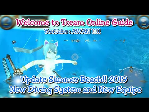 Toram Online - Update Summer Beach!! New Diving System and
