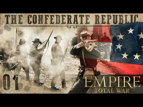 The Confederate Republic: Episode 1 | Brothers vs. Brothers mod for Empire: Total War