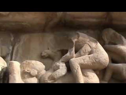 #Amazing Kama sutra images in stone, Khajuraho, India #HD #2017