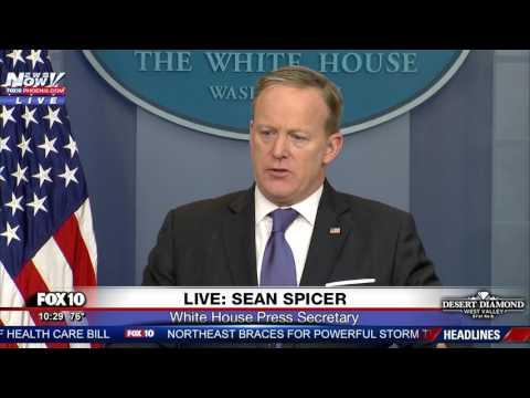FULL: Press Secretary Sean Spicer Holds White House Press Briefing (FNN)