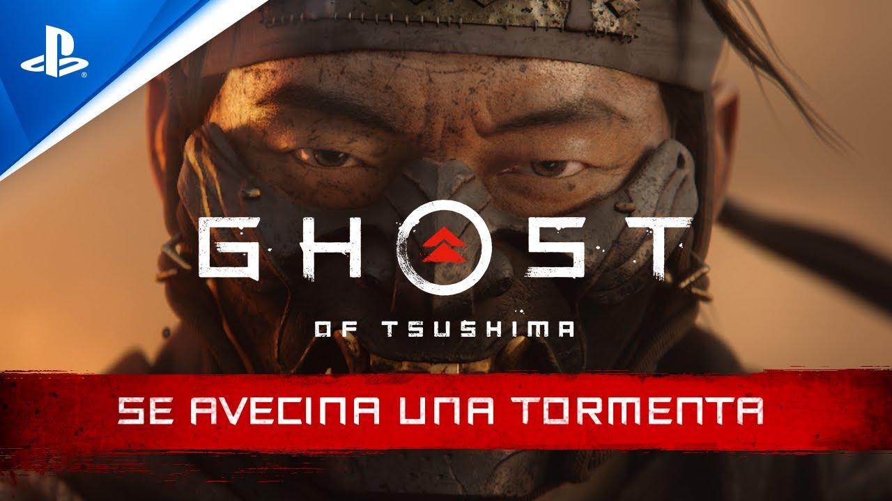 Ghost of Tsushima - SE AVECINA UNA TORMENTA tráiler cinemático en ESPAÑOL | PlayStation España