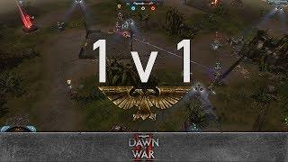 Dawn of War 2: Retribution - 1v1   Antandron - Warlock [vs] LordKira007 - Chaos Lord