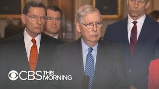 McConnell's new Trump impeachment trial rule under fire from Democrats