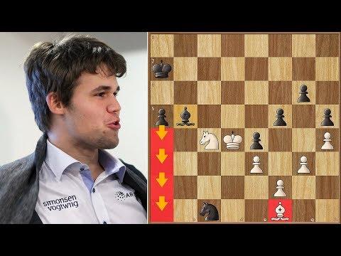 The Grind!   Radjabov vs Carlsen   Candidates Tournament 2013.   Round 13