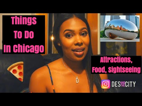 Things To Do While Visiting Chicago! Nightlife + Restaurants + Sightseeing!