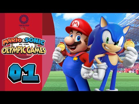 Mario & Sonic at the Olympic Games Tokyo 2020: Episode 01 - Go for the Gold! (Preview)