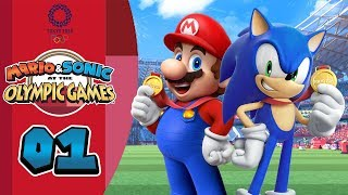 Mario & Sonic aт the Olympic Games Tokyo 2020: Episode 01 - Go for the Gold! (Preview)