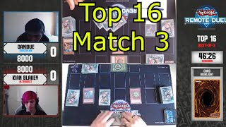 Remote Duel Invitational Top 16 Match 3 Yu-Gi-Oh! 2021