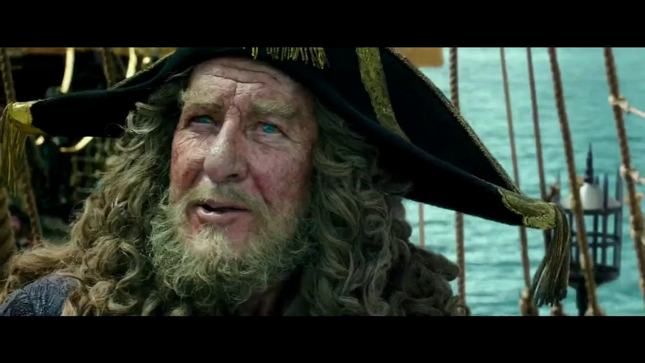 Download Pirates of the Caribbean: Dead Men Tell No Tales-Barbossa meets Salazar