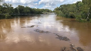 Hurricane Florence Aftermath — Cape Fear River Flooding in Fayetteville, NC