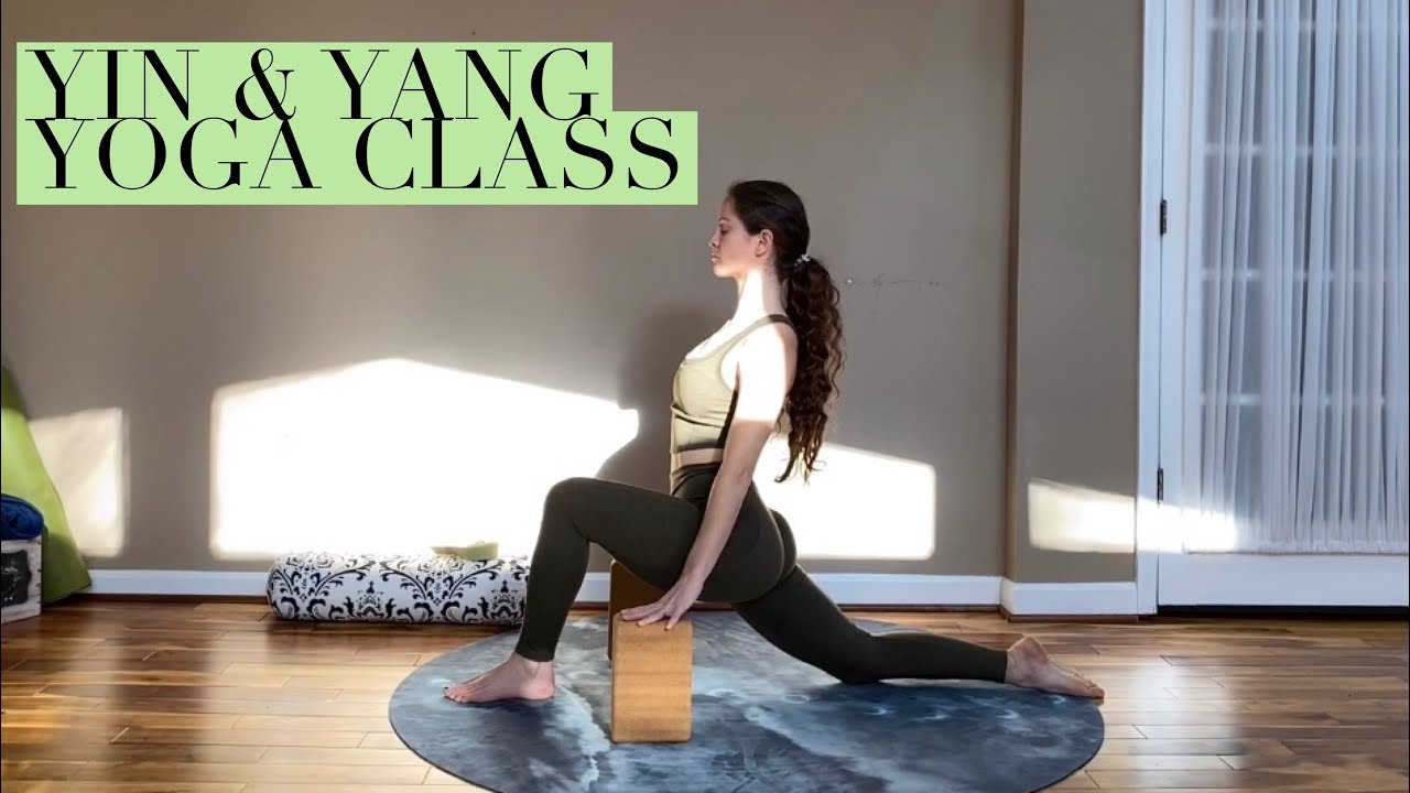 60 Min Yin & Yang Yoga Class (Vinyasa & Restorative Yin ...