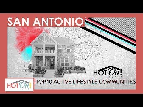 Top 10 Active Lifestyle New Home Communities In San Antonio, TX