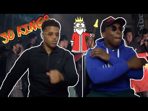 THE SCENES GROWING! | 30Kingz - Business Men. (Official Music Video) - REACTION