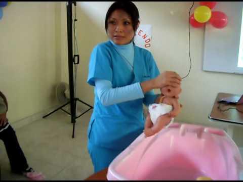 Ba o de recien nacido hospital ventanilla youtube - Bano del recien nacido ...