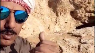 الضبعه وكشته في بر السعوديه وكبسة دجاج في شعيب كريم من ابو سعد