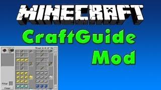 Minecraft Mods #9 - CraftGuide Mod [HD]