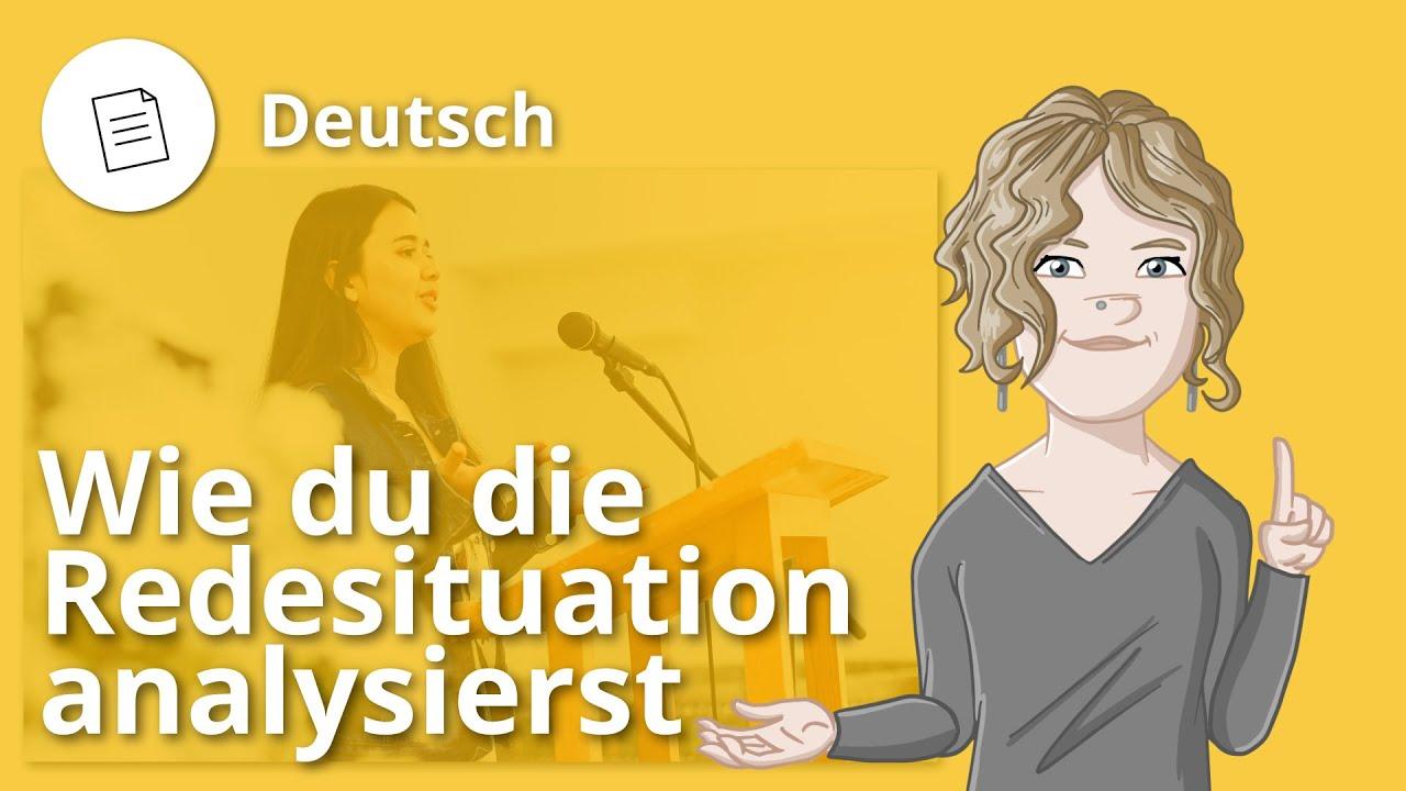 Redesituation analysieren: so geht's! – Deutsch | Duden Learnattack