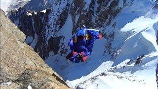 10008_#3 Valery Rozov Base Jump Wingsuit Dent du Géant Chamonix Mont-Blanc massif