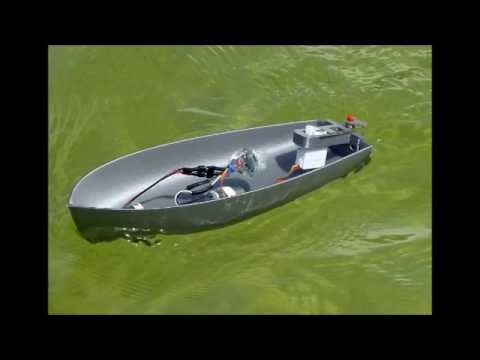 Fully printed small motor boat youtube for Boat lift motors near me