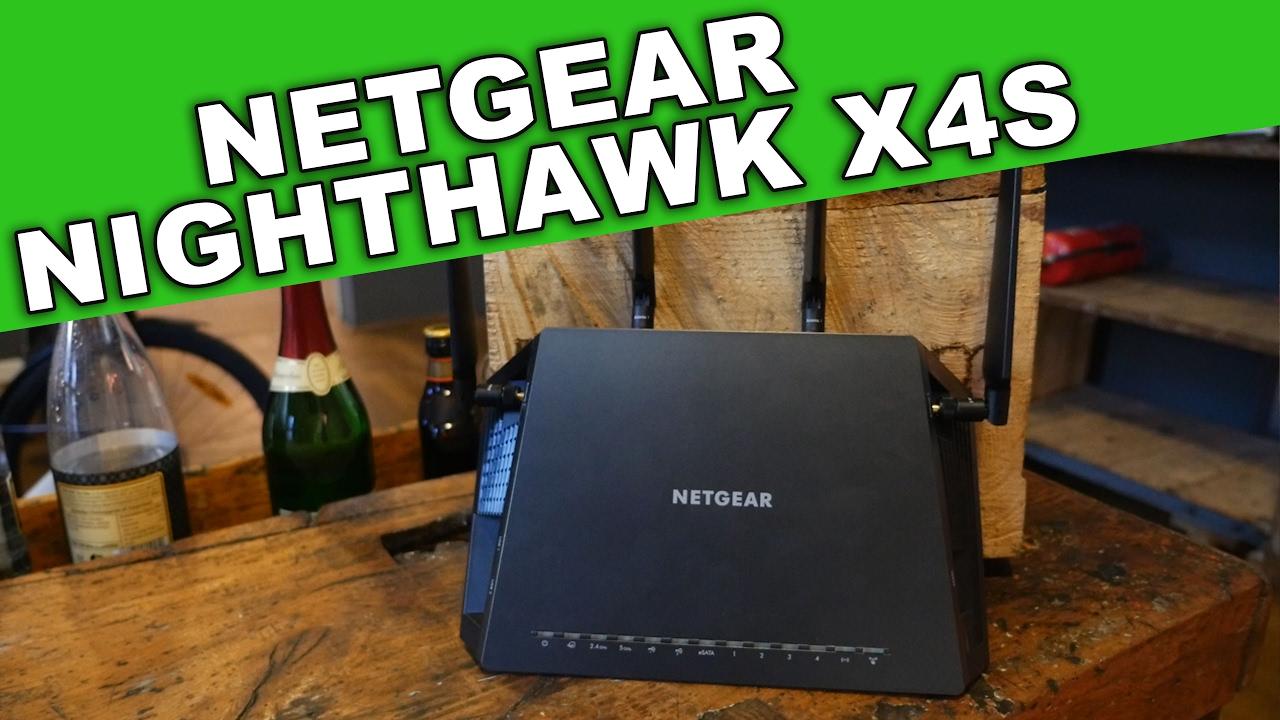 Gaming Router - Netgear Nighthawk X4S ac2600 Review/Test deutsch ...
