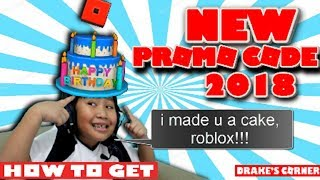 NEW!!! Roblox promo code! [100% WORKING!!!] Get the cake hat - LIMITED TIME ONLY!