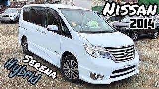 Обзор Nissan Serena Hybrid; 2014 г.в. 2000сс; Из Японии в Сочи !