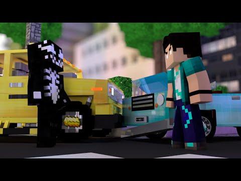 Minecraft: ACIDENTE DE CARRO COM O VENOM! - Build Battle Minigame