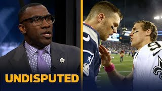 Drew Brees is more valuable than Tom Brady right now — Shannon Sharpe   NFL   UNDISPUTED