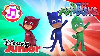 PJ Masks-Pyjamahelden ♫ Der Mut des Katers ♫   Disney Junior