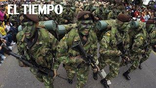 Así se vivió el desfile del 20 de Julio en Bogotá  EL TIEMPO