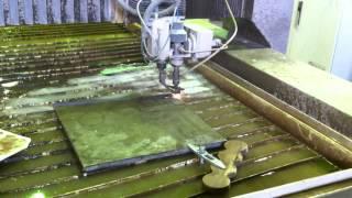 Гидроабразивная резка титана 10мм(, 2014-03-28T02:48:00.000Z)