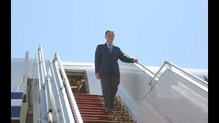 Зампредседателя КНР Ван Цишань прибыл в Беларусь thumbnail