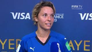 Valentina Giacinti – Player of the Match – Italy v China PR
