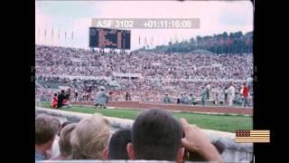HD STOCK FOOTAGE  - 1960 Summer Olympics Men