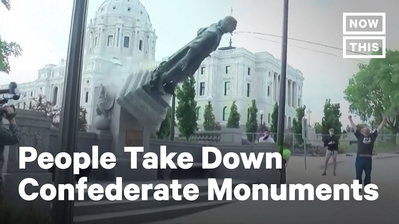 Confederate Monuments Are Coming Down | NowThis
