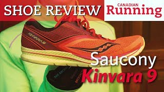 Shoe Review: Saucony Kinvara 9