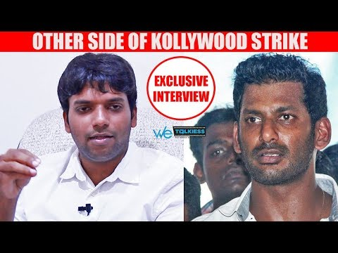 Kollywood strike is because of Vishal's foolishness - Rohini Theatre Nikilesh Surya Interview
